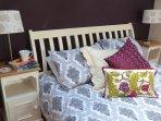 Luxury bedroom.........