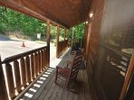 Relax on the front porch of 'Eternal Love'