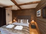 Luxurious rooms in your catered chalet.