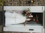 The first bride staying at The Beach House!