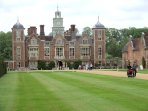 Blickling Hall, one of many Nationals Trust properties worth visiting