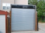 Automatic backyard Garage Door