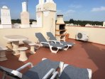 Roof terrace