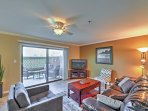 This fantastic condo is outfitted with all the necessary comforts of home.