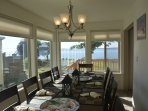 Water view from Formal Dining room