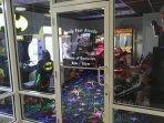 Arcade room on ground floor.