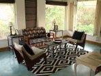 Kawua (Crow) bedroom sitting area: Teak Villa