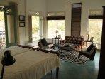 Kawua (Crow) bedroom: Teak Villa