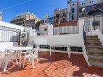 Private sunny terrace!