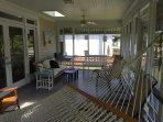 Incredible Relaxing Screened Porch