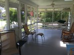 Another Great View of the Screened Porch