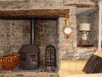 Cosy Inglenook Fireplace