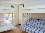 Bunk Beds with a High Sleeper and  Double Sofa Bed
