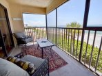 Screened Deck - Amazing continues here with the plush lounge chairs on the deck overlooking the sandy beaches and the...