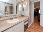 Extra Mirrors - There are no bad angles in this great bathroom!