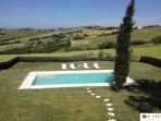 Swimming Pool Villa Peonia San Clemente Rimini