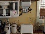 CoffeeMaker, Coffee Grinder, Toaster