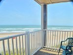 Private Balcony - Direct Ocean Front