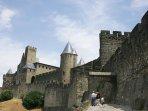 Carcassonne est à une heure…