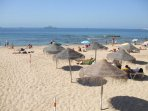 A beach in nearby Estoril