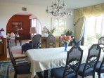 1 diningroom with amazing viw on the lake