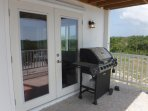 Grill the freshest fish & lobster on the out-door gas grill