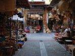 Market near Aristotelous square