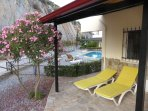 New veranda gives a fantastic option of lounging in the shade but only metres from the pool