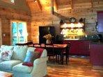 Kitchen/Dining Room/ Livingroom