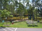 picnic and grill area just outside unit 1064
