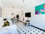 Living Room { Now has Light Wood Floor }