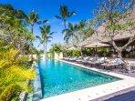 The Pool at Villa Kanti Ubud