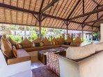 Villa Kanti Ubud Living Area