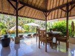 Living Room Villa Kanti Ubud