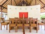 Ubud Villa Kanti Dining Room