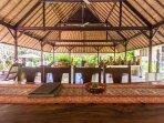 Villa Kanti Ubud Dining Room