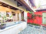 Master Pavilion Villa Kanti Ubud - bathroom