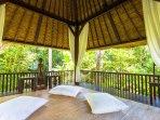 Massage Bale Villa Kanti Ubud Bali