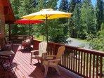 Deck View Summer