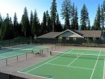 Spring Mountain Ranch Club House Tennis Courts