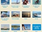 De nombreuses activités nautiques à proximité.