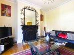 LIVING ROOM -  leather sofa