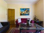 Living Room - Original oil painting