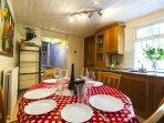 Kitchen Oven, gas hob, microwave, washing machine,