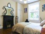 'GARDEN BEDROOM' - Original Fireplace