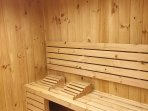 Sauna!