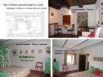 L'appartamento 'La Palma' è situato al piani rialzato e vi si accede dalla sala comune