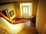 Escalera piso superior