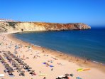 The gorgeous beaches of Cascais are only a 20 minutes train ride away