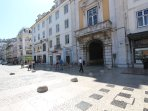 You'll be within walking distance of Rossio, Alfama, Chiado, Castle and many of the city's sights